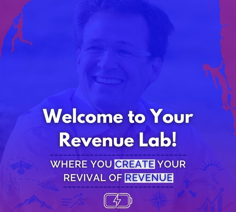 Welcome to your revenue hub! Where you create your revival of revenue